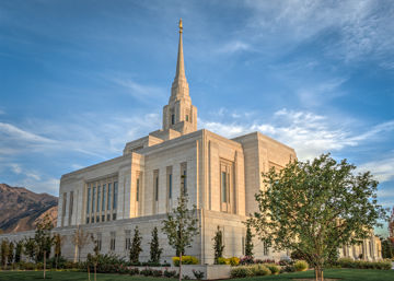 Picture of Ogden Utah Temple Place of Holiness