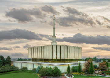 Picture of Provo Utah Temple His Sacred Place