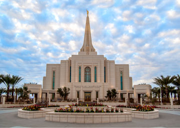 Picture of Gilbert Temple Glory from on High