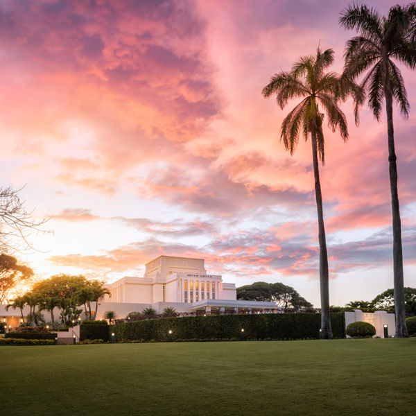 Picture of Laie Sunset Panorama