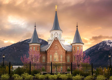 Picture of Provo City Center Temple - Breaking Sun
