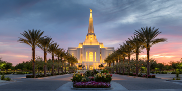 Picture of Gilbert Temple Transcending Glory