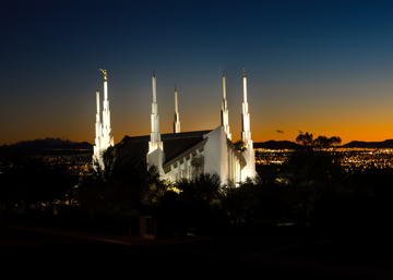 Picture of Las Vegas Temple Heaven's Glory