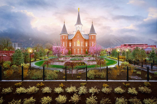 Picture of Provo City Center Arise and Stand Forth