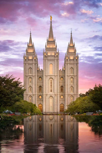 Picture of Salt Lake for Time and All Eternity