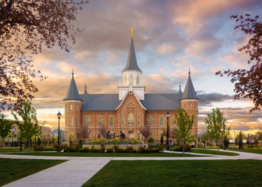 Picture of Provo City Center Temple Majestic Morning