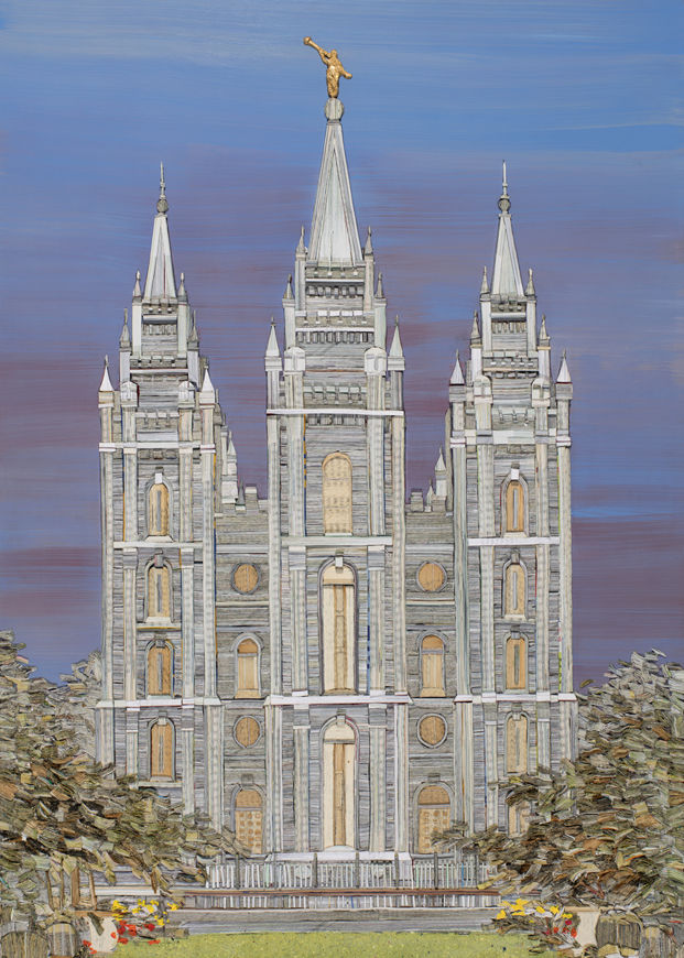 Picture of Salt Lake Temple Eternal