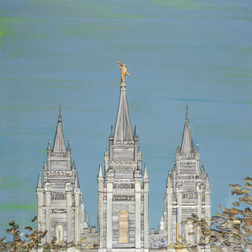 Picture of Salt Lake Temple Peace
