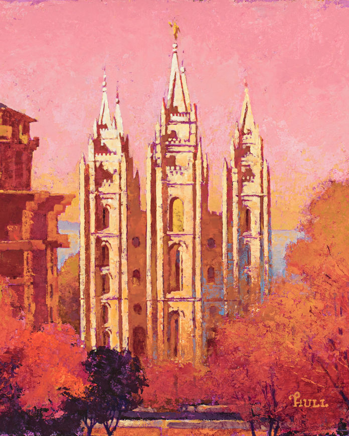 Picture of Morning Light on Salt Lake City Temple