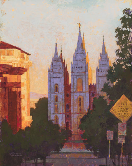 Picture of Salt Lake City Temple Afternoon