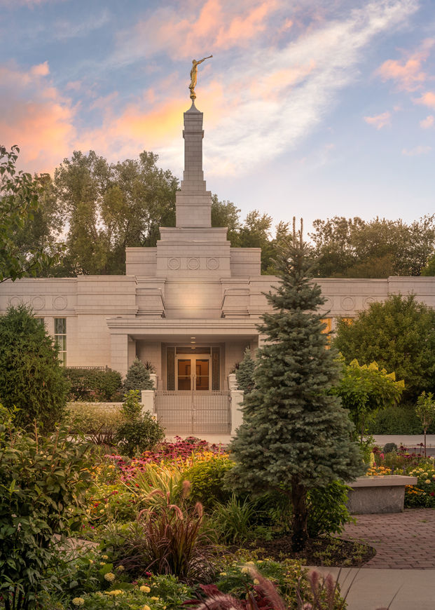Picture of St. Paul Sacred Garden Sunset