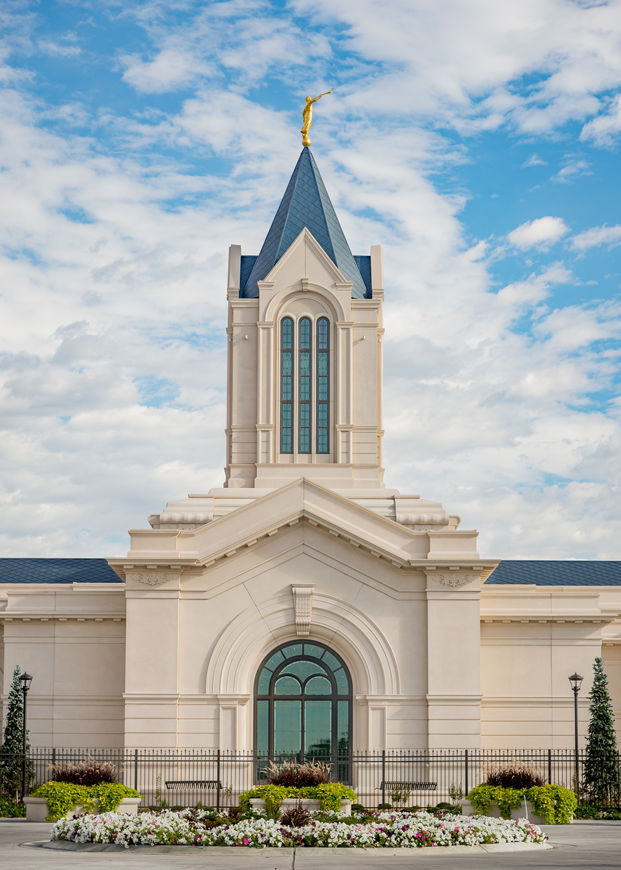 Picture of Fort Collins Temple Morning
