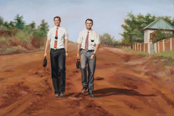 Picture of Missionaries in Ghana