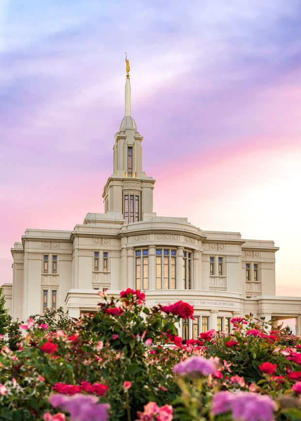 Picture of Payson Utah Tiptoe Through The Roses