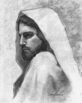 Picture of Savior Sketch