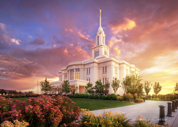 Picture of Payson Temple, He Remembers the One