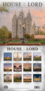 Picture of 2019 House of the Lord Taylor Yardley Calendar