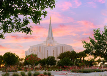Picture of Gilbert Temple Come Seeking Peace