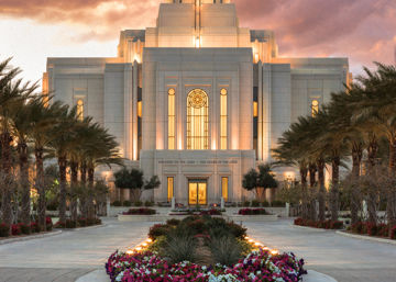 Picture of Gilbert Temple Glorified In Light