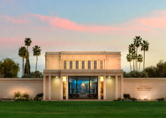 Picture of Mesa Temple Alpha & Omega
