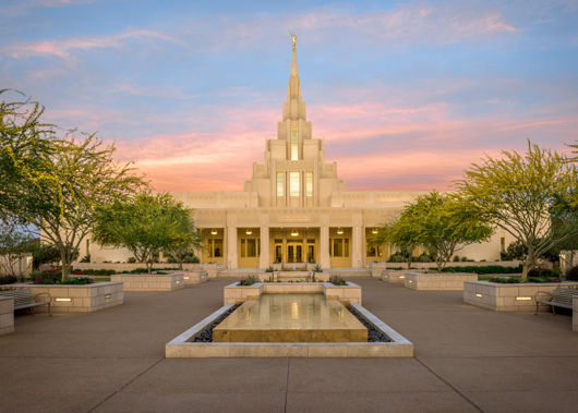 Picture of Phoenix Temple And We Shall See Him