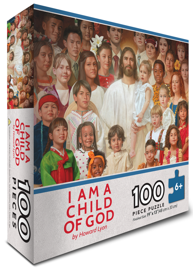 Picture of I Am A Child of God Puzzle