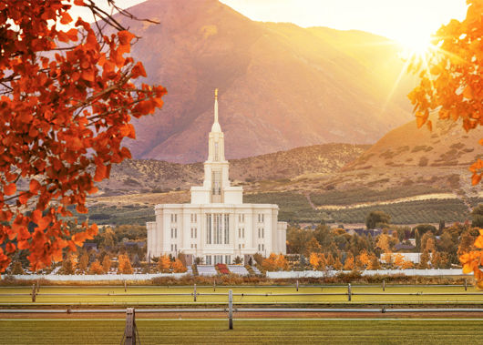 Picture of Payson Temple Seeking Light And Knowledge