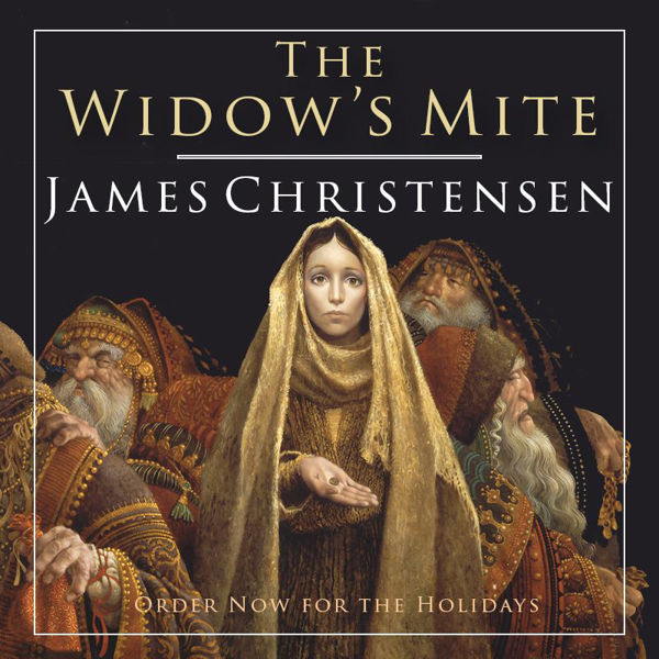 Picture for category The Widow's Mite by James Christensen