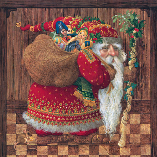 olde world santa by james christensen