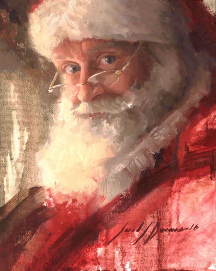 santa by jared barnes