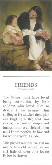Picture of Friends Bookmark 2 X 7