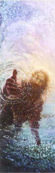 Picture of The Hand of God Bookmark 2 X 7
