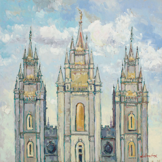 Picture of Salt Lake Temple Gold