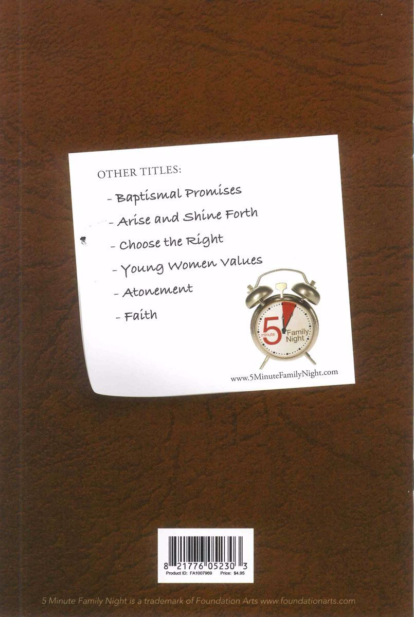 Picture of Purposes of the Aaronic Priesthood Booklet