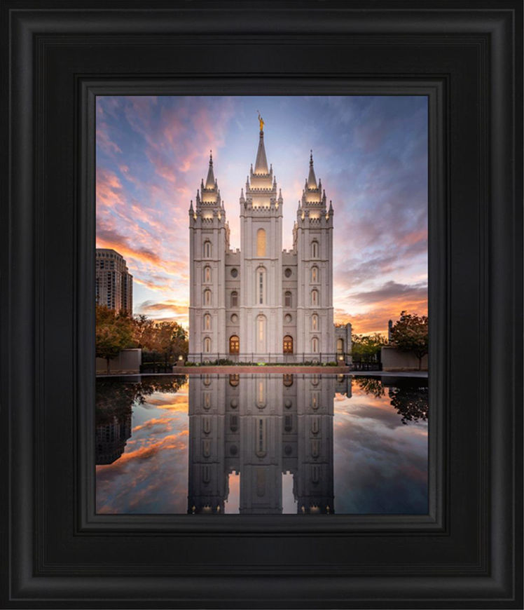 Salt Lake Reflection Of Eternity