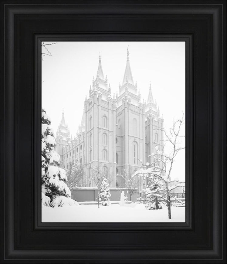 Salt Lake City High Key Snow