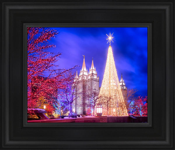 Temple Square Christmas Tree