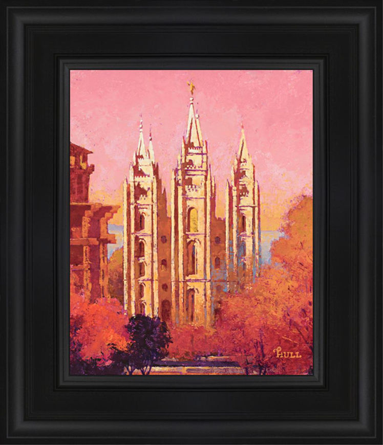 Morning Light on Salt Lake City Temple