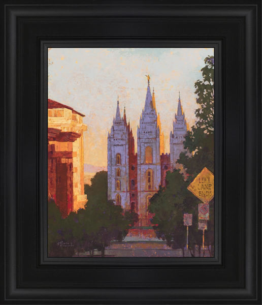 Salt Lake City Temple Afternoon