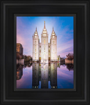 Salt Lake Temple All is Still