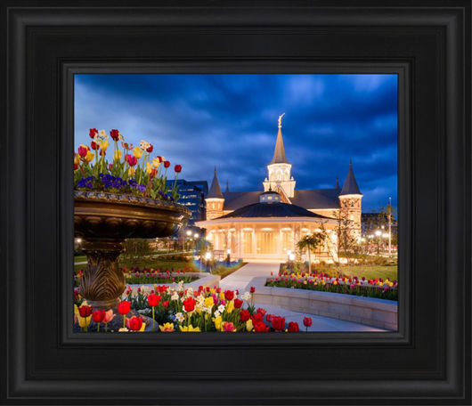 Provo City Center - April Showers Bring May Flowers