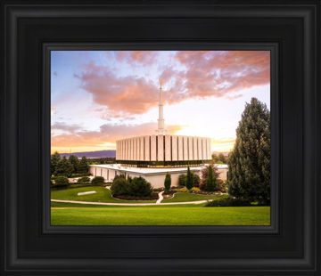 Provo Temple - Sunset Serenity