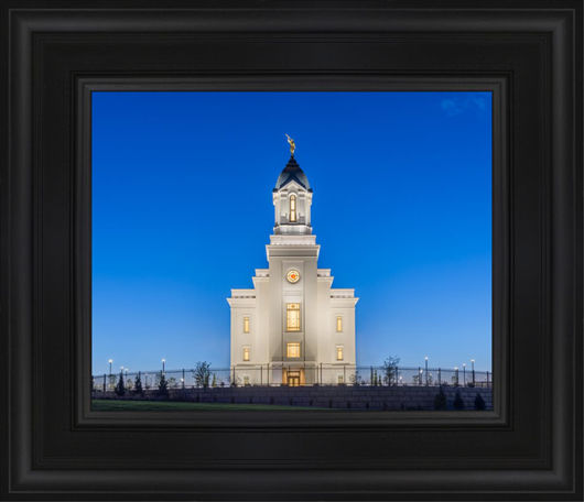 Cedar City Temple Blue Hour