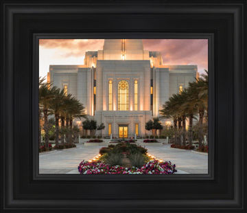 Gilbert Temple Glorified In Light