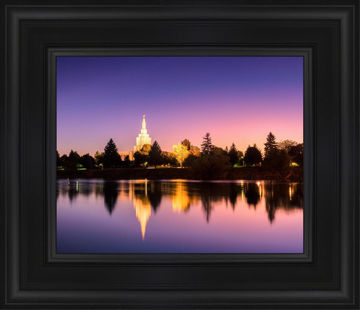 Idaho Falls Snake River Reflection