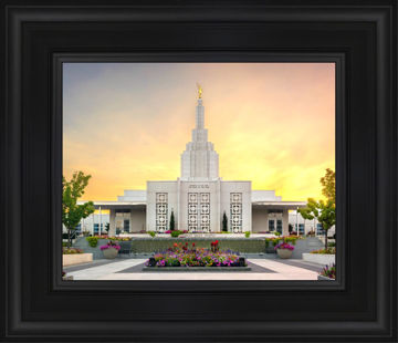Idaho Falls Temple Summer Glow