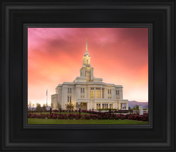 Payson Temple Glory in Stages