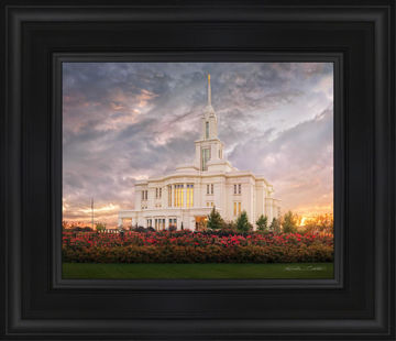 Payson Temple September Sunset