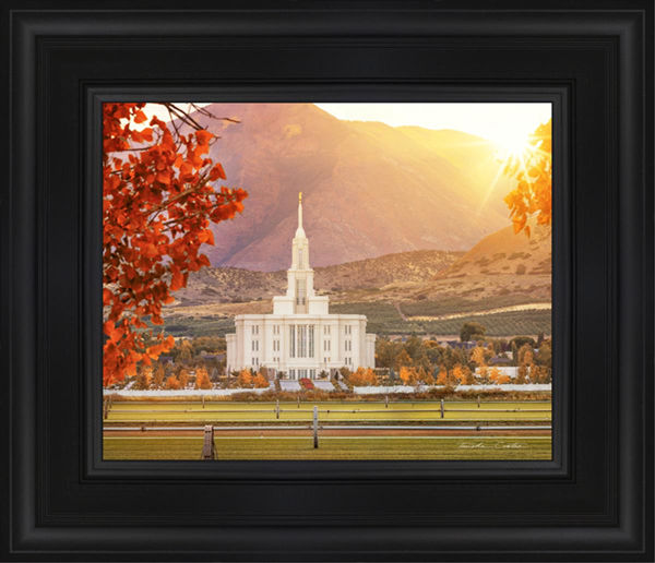 Payson Temple Seeking Light And Knowledge