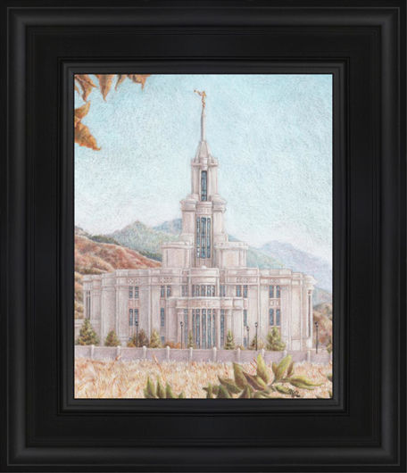 Payson Temple Harvest Approaches